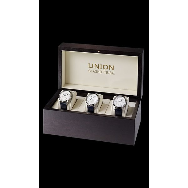 Union Glashütte 1893 - Jubiläumsedition-Set in Uhrenbox